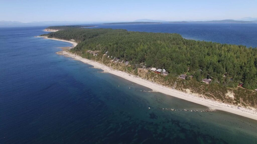 Savary Island By Air